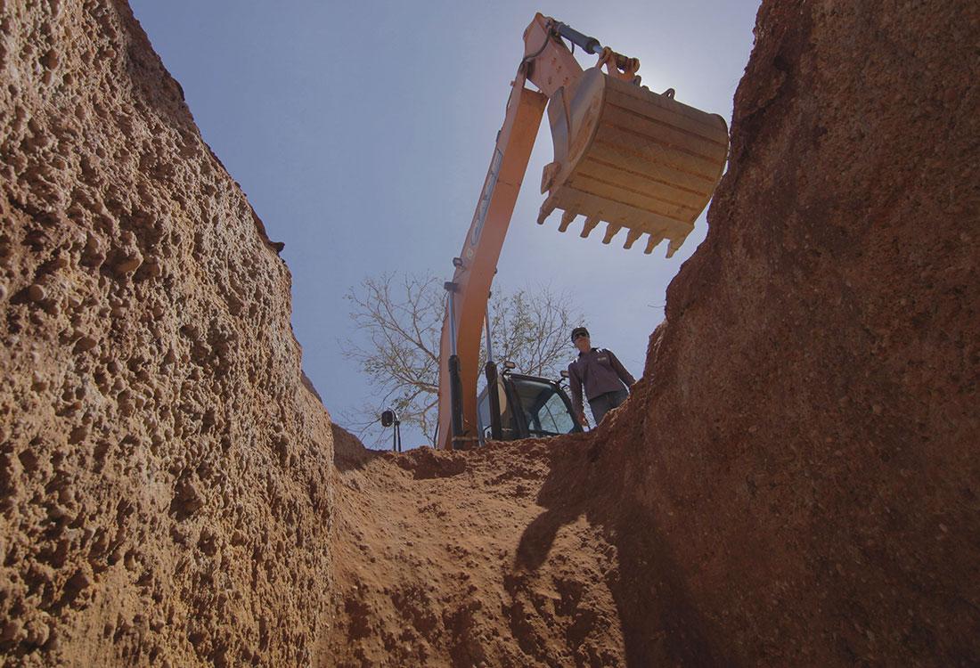 Extração mineral sustentável